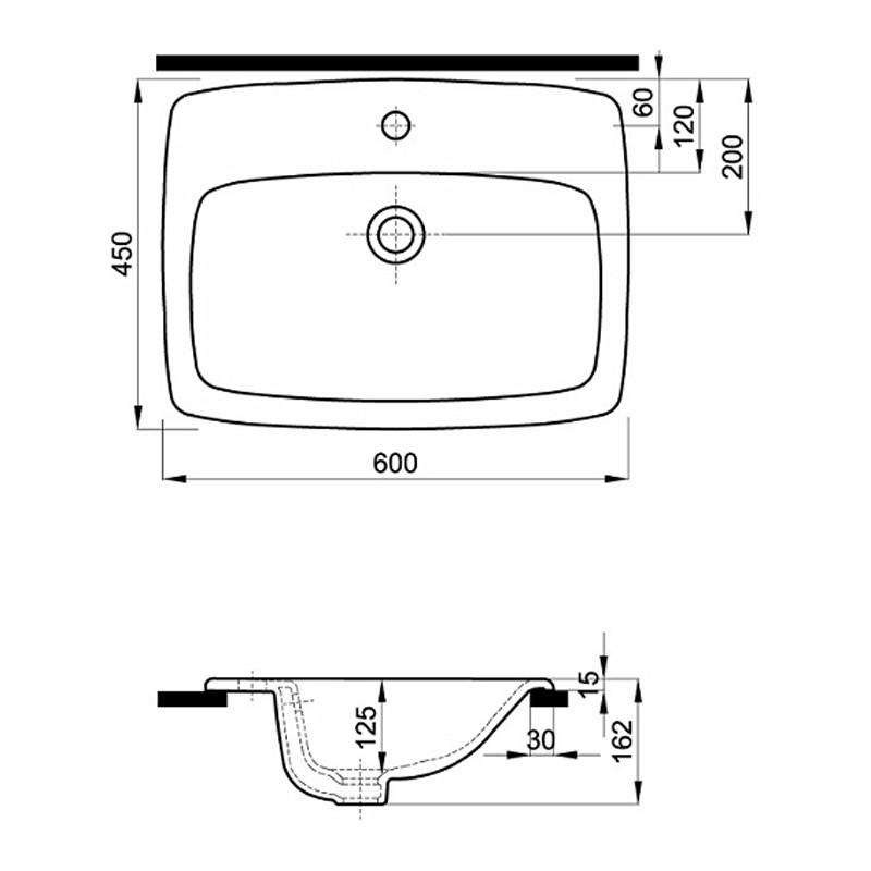 Koło Umywalka Nova Pro 60 Cm M31861 Umywalki Domino Onlineeu