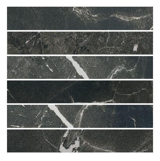 CERIM TIMELESS BLACK  MOSAICO LUCIDO GAT.1 5X30 747405 30X30