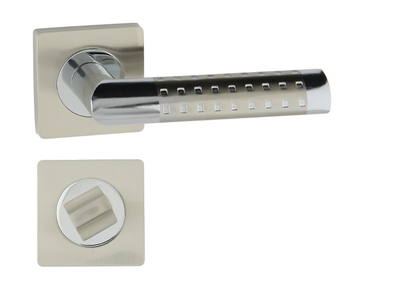 KLAMKA GALAXY-QR M6/M9 + ROZETA WC