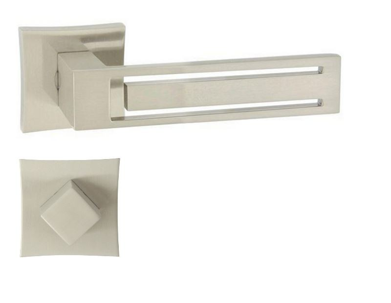 KLAMKA MAGNET-QR M9 + ROZETA WC