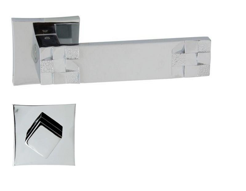 KLAMKA TORO-QR M6 + ROZETA WC