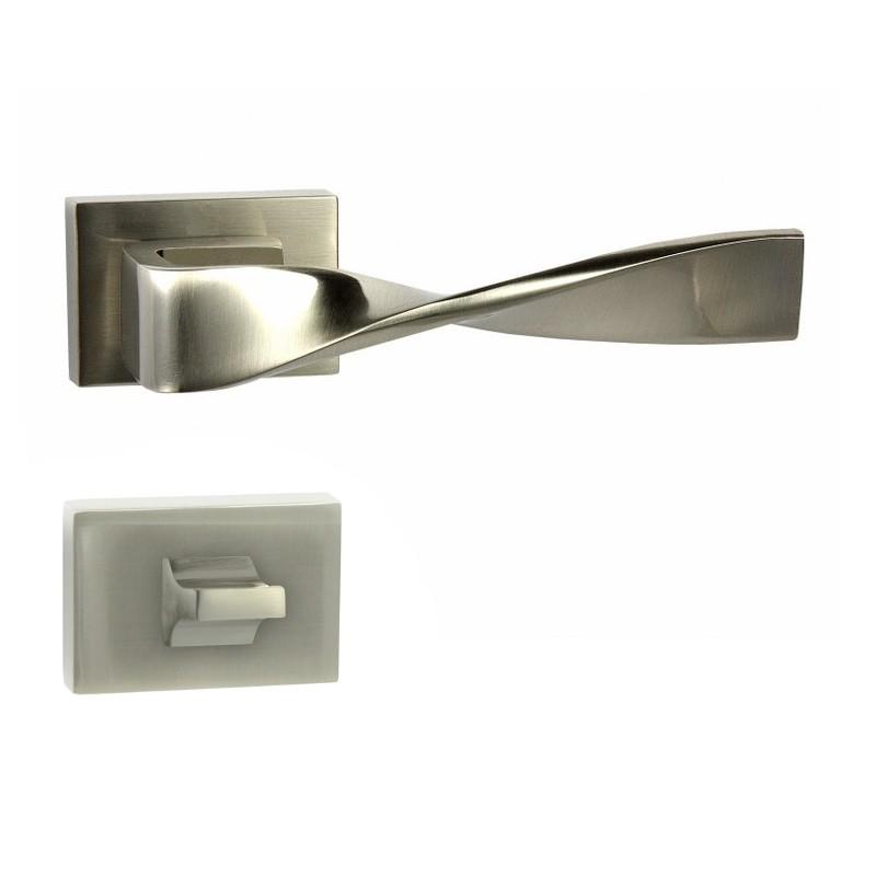 KLAMKA TWIST-RT M9 + ROZETA WC