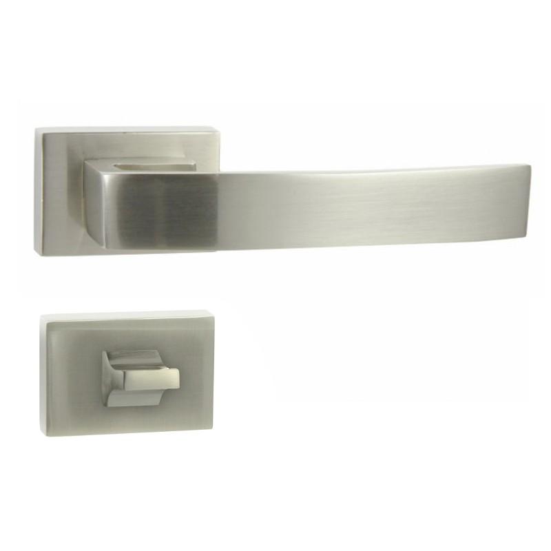 KLAMKA MINIMAL-RT M9 + ROZETA WC